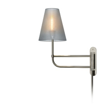 Sonneman 1960.35 - One Light Nickel Wall Light