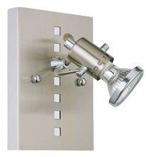 Eglo US 82242A - 1x50W Wall Light w/ Matte Nickel & Chrome Finish