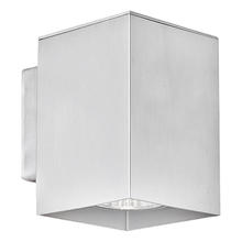 Eglo US 87018A - 1x50W Wall Light w/ Aluminum Finish