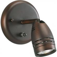 Progress P6154-174WB - One-Light Multi Directional  Wall/Ceiling Fixture