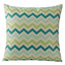 Varaluz 420A02 - Colorful Triangles Square Throw Pillow