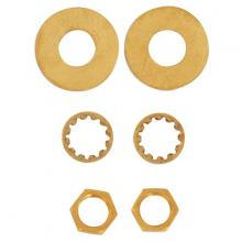Satco Products Inc. S70/628 - Steel Washers; 1/8 IPS; Assorted Washers; Quantity 6