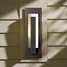 Hubbardton Forge 307285-SKT-07-GG0066 - Forged Vertical Bars Small Outdoor Sconce