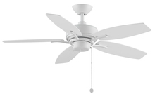 Fanimation FP6244MW - Aire Deluxe - 44 inch - Matte White with Matte White Blades